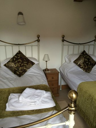 Withy Mills Farm: Second bedroom was a comfy twin.
