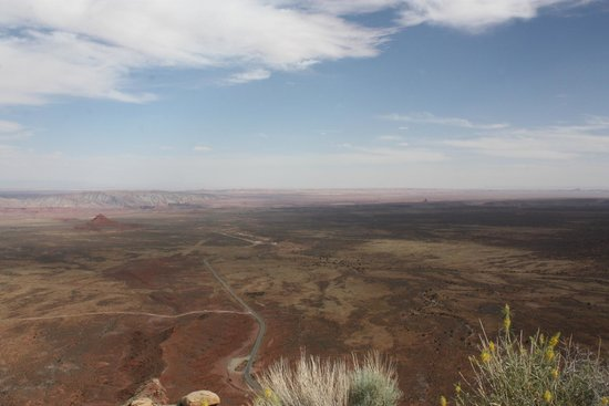 Moki Dugway: View from the top