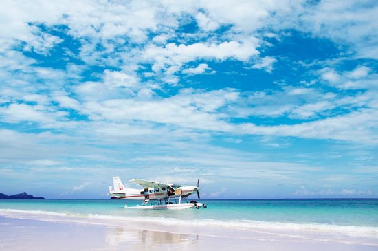 One&Only Hayman Island: Seaplane Tour to Whitehaven Beach