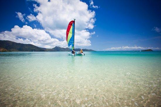 One&Only Hayman Island: Windsurfing - One&Only Hayman Beach