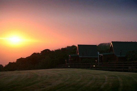Misty Mountain Reserve: Early morning sunrise