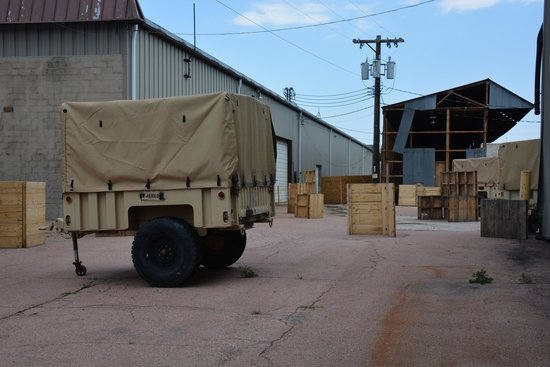 Battlefield Colorado: realistic battle props