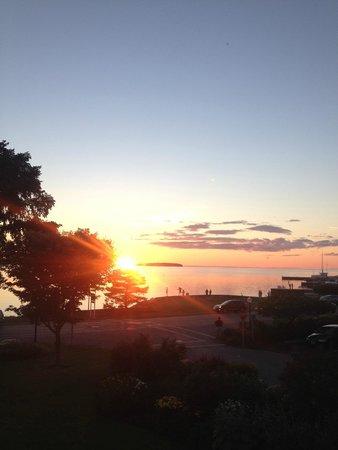 Ephraim Shores Resort: View from Sunset room