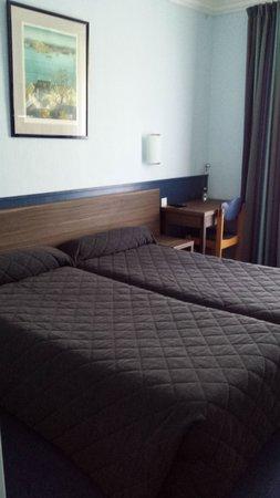 Hotel Jules Cesar : chambre twin privilège