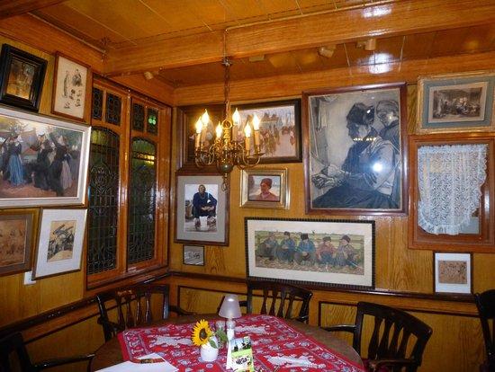 Hotel Spaander: Detalle de una de las paredes del hotel
