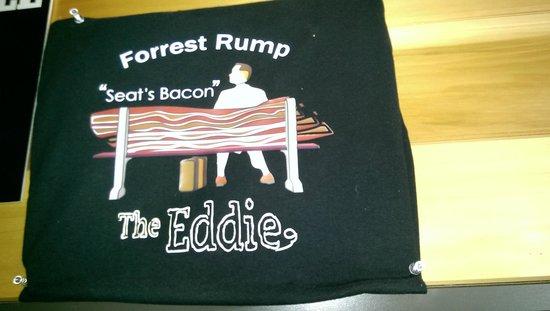 Eddie Burger & Bar : one of the tee shirts