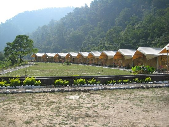 Himalayan Bear Stream Camp: The tented accommodation