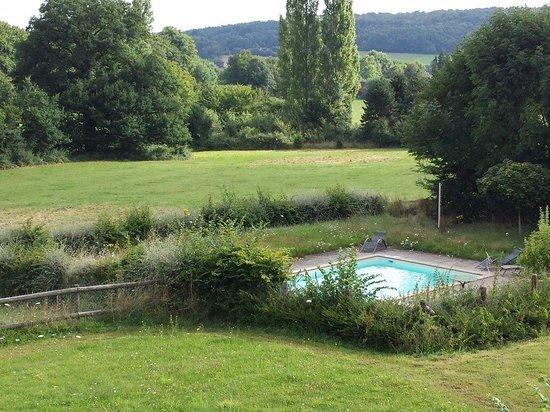 Domaine de La Louveterie : La piscine