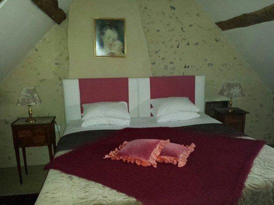Domaine de La Louveterie : La chambre de la suite