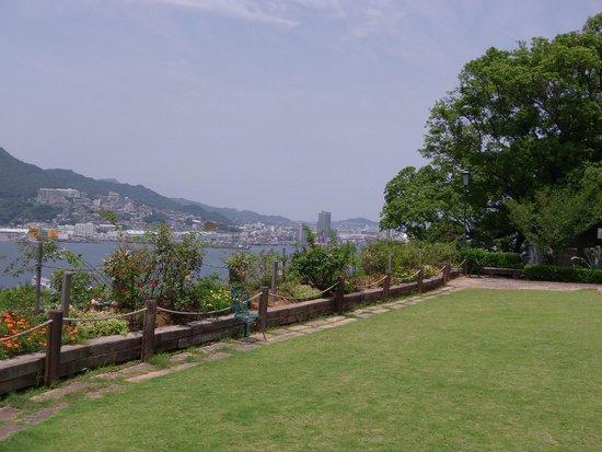 Glover Garden: View from former Ringer House
