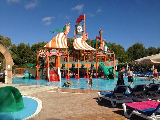 Invisa Hotel Club Cala Verde : Parco acquatico
