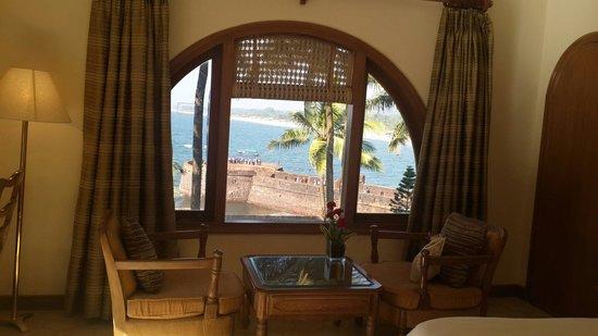 Vivanta by Taj - Fort Aguada, Goa : View from our room