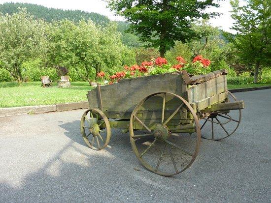 Casa Rural Jesuskoa: Jardin