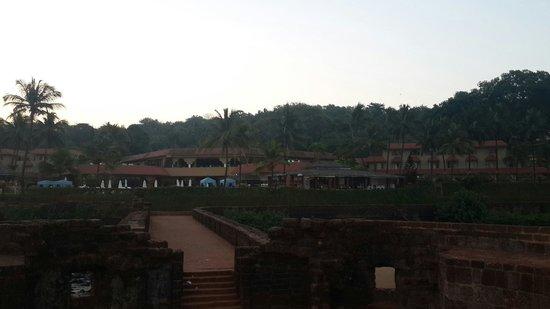 Vivanta by Taj - Fort Aguada, Goa : View of taj from beach area