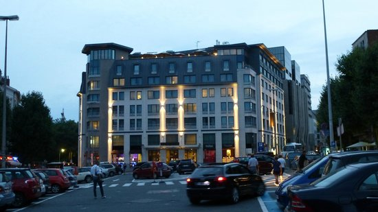 Sofitel Brussels Europe : Fachada