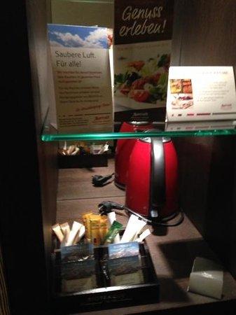 Munich Airport Marriott Hotel: Kostenloser Kaffee/Tee