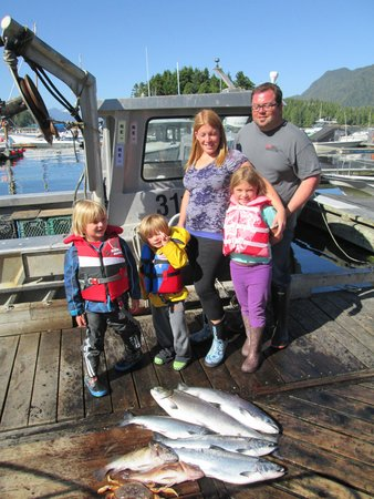 Tofino Fish Guides - Private Charters : our catch