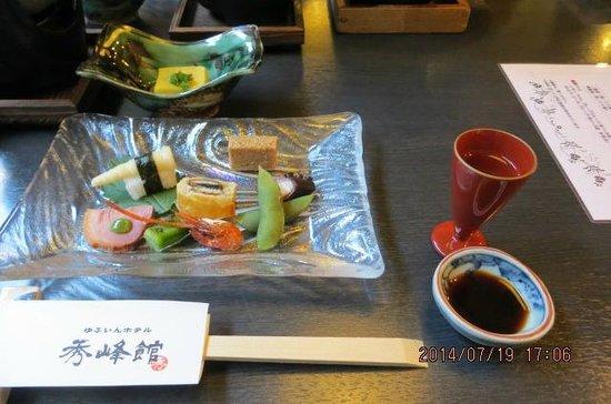 Shuhokan: dinner