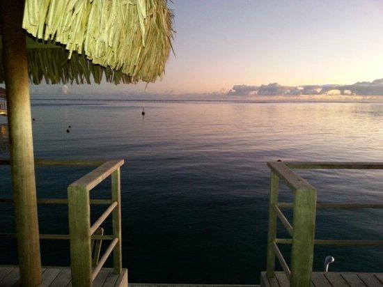 InterContinental Moorea Resort & Spa : magical mornings