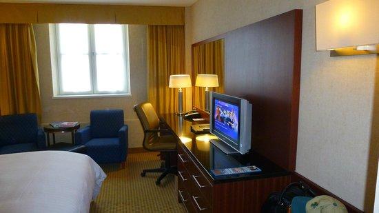 Ghent Marriott Hotel: Detalle de la habitación