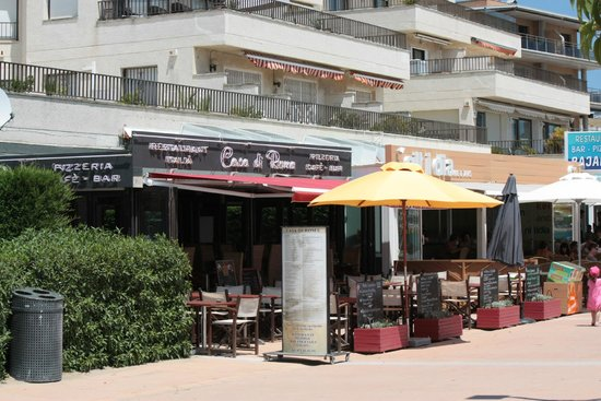 Restaurant Pizzeria Casa Di Roma: Coté Pile ;)