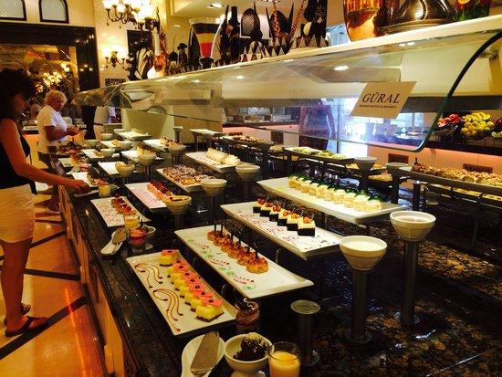 Gural Premier Belek: Great buffet!