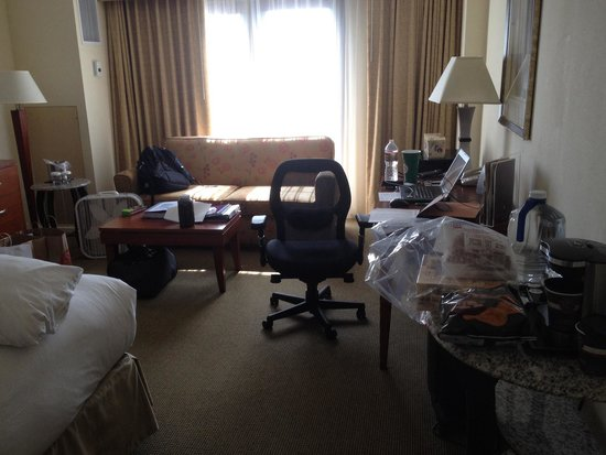 Doubletree by Hilton Hotel Austin: Rest of the room.