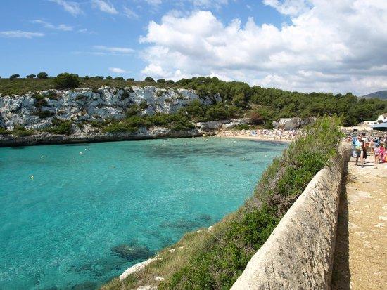 Blau Punta Reina Resort: Camino de la playa (2 min desde la habitación)