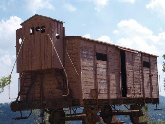 Memorial del Holocausto Yad Vashem: Transport truck to death camps