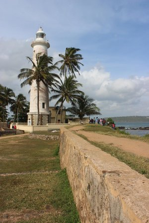 CoCo Bay Unawatuna: Galle Fort, Lighthouse. Only a short tuk-tuk ride away