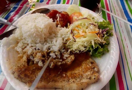 Siam Square: pork rice