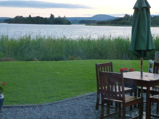 The Lake of Menteith Hotel: View from restuarant