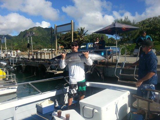 Akura Game Fishing Charters: big catch