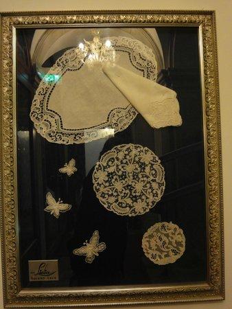 Hotel Palazzo Vitturi: оформление лестниц