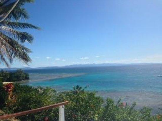 Makaira Resort: view from day bed