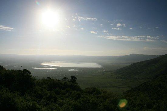 Ngorongoro Crater: Lever de soleil sur le cratère