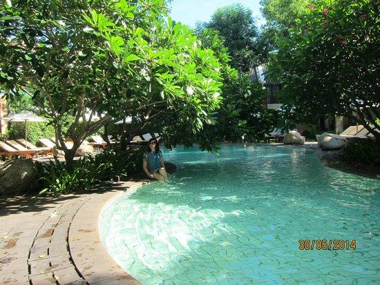 Woodlands Hotel & Resort: маленький бассейн