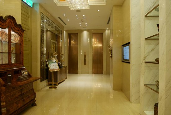 San Want Residences : エレベーターホール