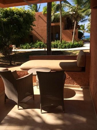Sivory Punta Cana Boutique Hotel: La terrasse