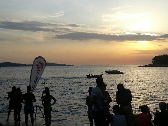 Hula hula beach bar: Sundown