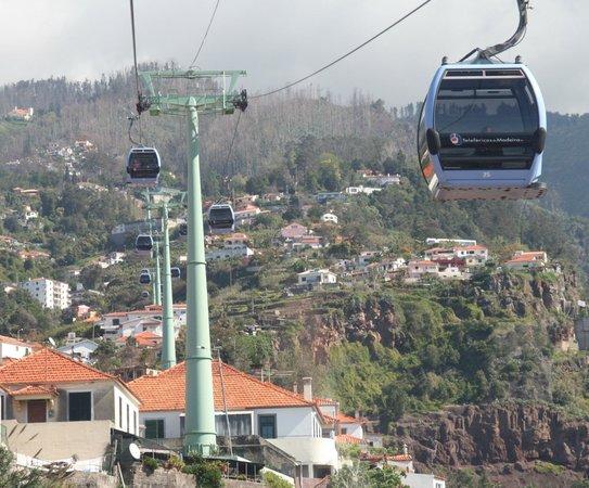 Monte Cable Car: Udsigt fra svævebanen