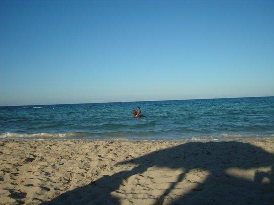 Zephir Hotel & Spa : La plage en fin de journée