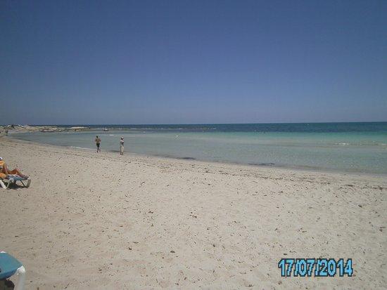 Zephir Hotel & Spa : La plage