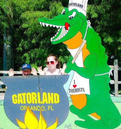 Gatorland: lunch for the Gator