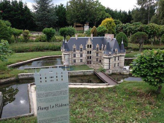 Parc des Mini-châteaux : Azay-Le-Rideau