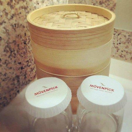 Le Meridien Singapore, Sentosa : Toilet Amenities
