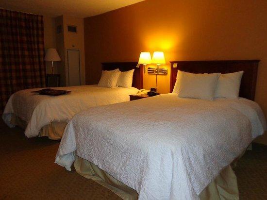 Hampton Inn Columbus-North: beds