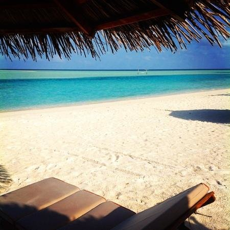 Anantara Dhigu Maldives Resort: view from our villa