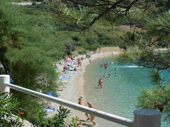 Hotel Bastina Sveti Kriz Bol: Beach