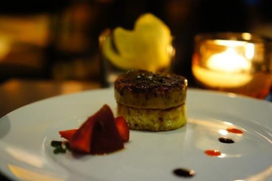 Market by Jean-Georges : Foie gras brulee